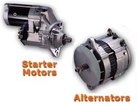 Alternators and Starters